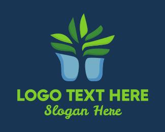 Bush - Succulent Plant logo design