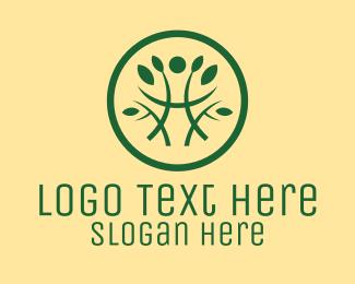 Simple - Simple Plant Pattern logo design