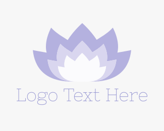 Feminine - Yoga Lotus logo design