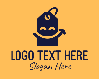 Price Tag - Price Tag Smiley logo design