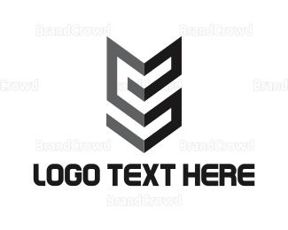 Feather - Arrow Feather logo design