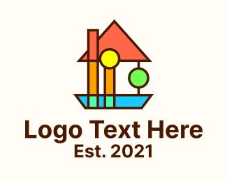Architecture - Bauhaus Decoration Design logo design