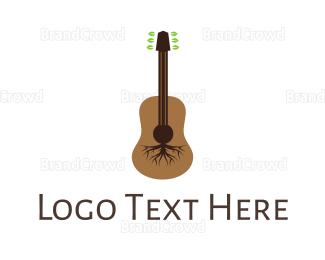 Symphony - Root Guitar logo design