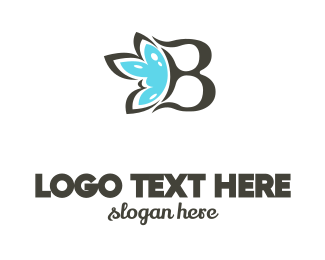 Cleanser - Blue Flower B logo design