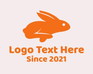 Pet Store - Cute Pet Bunny logo design