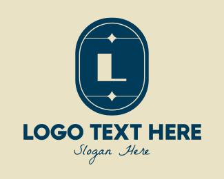 Fancy - Fancy Blue Lettermark logo design