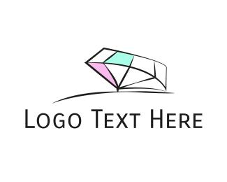 Engagement - White Diamond  logo design
