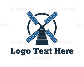 Breeze - Solar Mill logo design