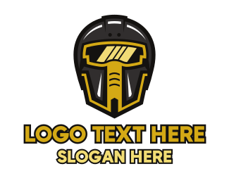 Bounty Hunter - Gaming Clan Esports Helmet logo design