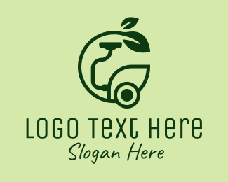 Home Appliances - Eco Friendly Hoover  logo design