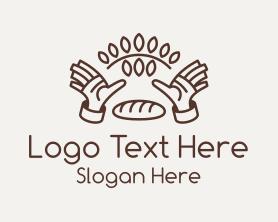 Handmade - Handmade Dough Bakery logo design
