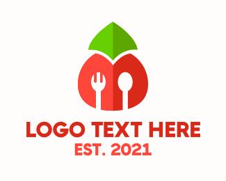 Marketplace - Tomato Cafeteria logo design