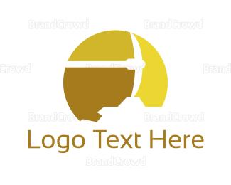 Fortune - Gold Pickaxe logo design