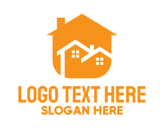 Duplex - Modern Duplex Home logo design