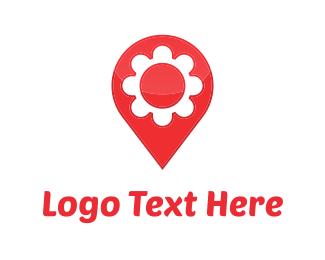 Flower Map Logo