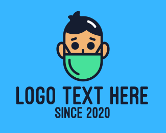 Surgical Mask - Medical Face Mask logo design