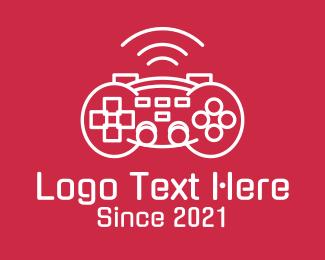 Console - Minimalist Game Console logo design