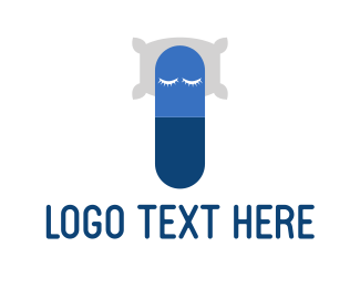 Nap - Capsule Nap logo design