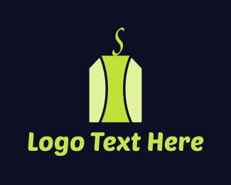Tea - Green Tea Bag logo design