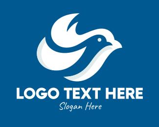 Dove - White Dove logo design