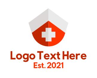 Nurse - Nurse Cap First Aid Kit logo design