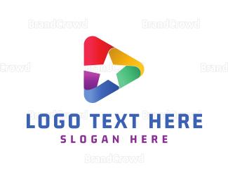 Media - Star Media logo design