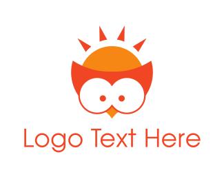 Orange - Orange Owl logo design