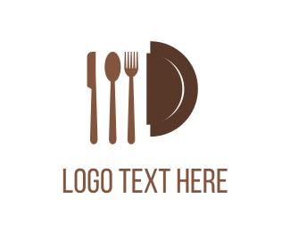 Knife - Restaurant Cutlery logo design