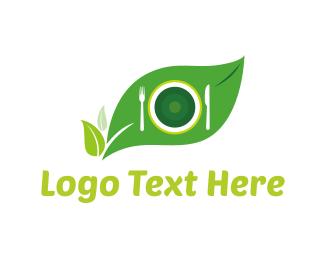 Dish - Eco Food logo design