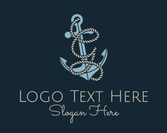 G - Anchor Rope Letter G logo design