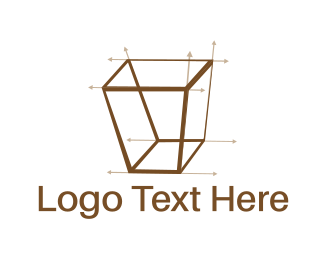 Technical - Isometric Draw logo design