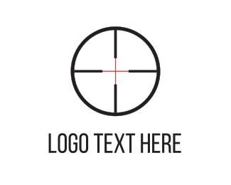 Point - Shooting Target logo design