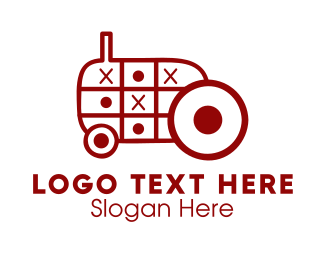 Tic Tac - Tractor Toy logo design