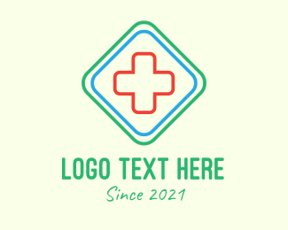 Healthcare - Diamond Healthcare  logo design