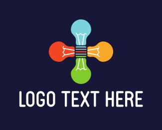 Group - Light Bulbs Group logo design