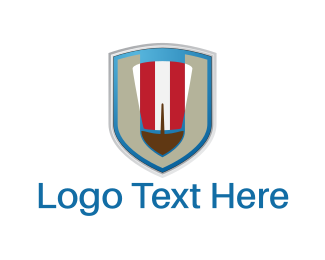 Shield - Hat Shield logo design