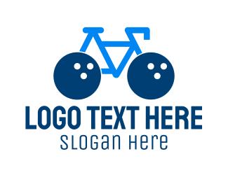 Bike - Bowling Bike logo design