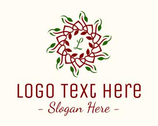 Christmas - Natural Christmas Lettermark logo design