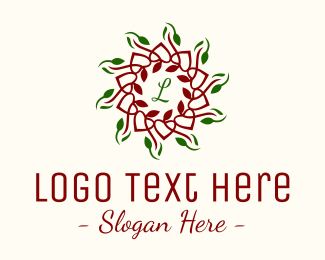 Orchard - Natural Christmas Lettermark logo design