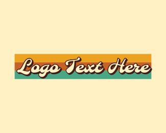 Cursive - Retro Cursive Wordmark logo design