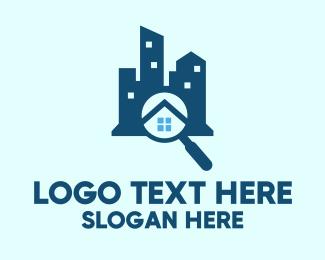 Estate - Real Estate Search logo design