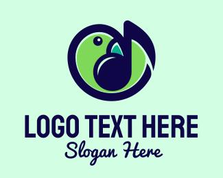 Song - Song Bird Music logo design