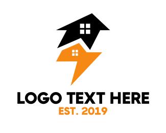 Aviary - Abstract Eagle Homes logo design