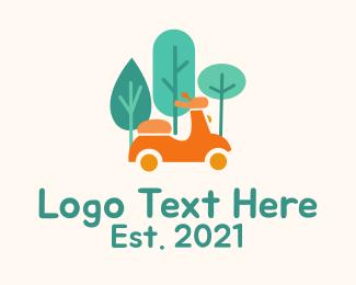 Racing - Eco Friendly Scooter  logo design