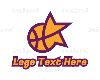 Mvp - Star Basketball Sports logo design