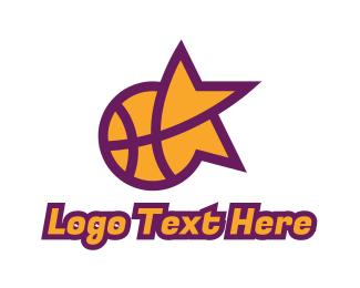 Mvp - Star Basketball Sports logo design