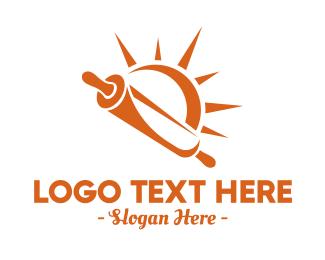 Bakery - Orange Sun Bakery logo design