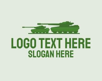 Military - Military Tank logo design