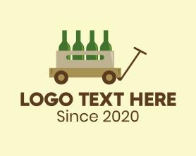 """""""Wine Wagon Bar"""" by FishDesigns61025"""