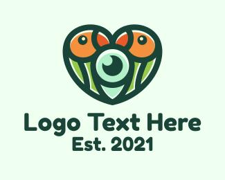 Wildlife - Wildlife Lovebird Photography logo design